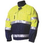 Kõrgnähtav tööjakk  5071 kollane/sinine L, Dimex