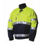 Kõrgnähtav tööjakk  5072 kollane/sinine M, Dimex
