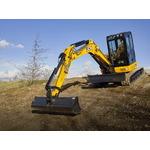 Mini excavator  55Z, JCB
