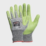 Gloves, cut resistant glass fiber, class 5, PU palm, Gloves Pro®
