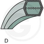 Belt BB125, Granit