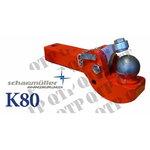 K80 Drawbar Insert John Deere Claas Axion 850, QTP