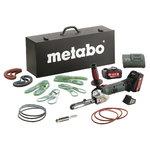 Tiesinis juostinis šlifuoklis  BF 18 LTX 90 su priedų rinkin, Metabo