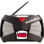 METABO raadio-laadija WILDCAT, Metabo