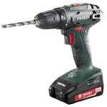 Akutrell BS 18, 13 mm padruniga / 2,0 Ah, Metabo