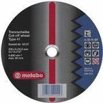 Diskas pjovimo metalui 230x3,0x22,2mm Stand, METABO