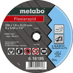 INOX lõikeketas 125x1,6x22 mm, A46R, Metabo