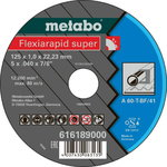 Diskas pjovimo metalui 125x1,0 mm, A60T, Metabo