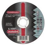 Metalo  pjovimo ir šlifavimo  diskas  125x1, 9x22 combinator, Metabo