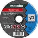 Diskas pjovimo metalui 125x2,5x22,2 mm, Metabo