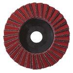 5 lapeliniai šlifavimo diskai 125x22,23 vid. grubumo KLS, Metabo