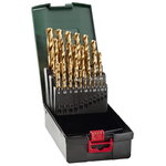 HSS-TIN drill bit set, 25-pcs, Metabo