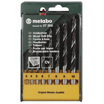 Wood drillbit set, 8 pcs, 3-10 mm, Metabo