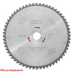 Diskas pjovimo 250x2,4/1,8x30, z60, WZ, -5°, Precision Cut, Metabo