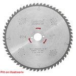 Diskas pjovimo 254x2,4/1,6x30, z40, WZ, 20°, Precision Cut., Metabo