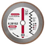 Diamond cutting disc 125x22,23 mm, professional, TP, Metabo
