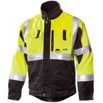 Hig.Wis. workjacket Dimex 6330 yellow/black L, DIMEX