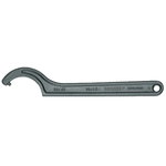 Raktas kablys su apvaliu užkabinimu 155-165mm 40Z, Gedore