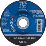 Šlifavimo diskas 125x7,2mm ZA24 SG-P, Pferd