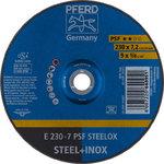 Šlifavimo  diskas 230x7,2mm A24 L PSF E, Pferd