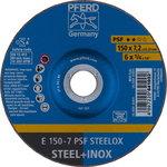 metallilihvketas 150x7,2mm A24 PS-F, Must M./INOX, PFERD