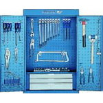 Tool cabinet with hooks 1401LH, Gedore