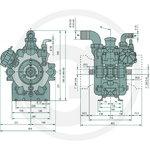 REVERBERI pump AR280bp, Granit