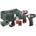 10,8V Combo set: PowerMaxx BS Quick Pro + PowerMaxx SSD, Metabo