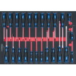 screwdriver set 24-pcs ERGO+, Kstools
