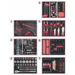 tool set for vehicle mechanic 316-pcs SCS, Kstools