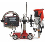 Welding tractor with power source , Javac