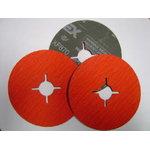 Fibro diskas 125x22mm A36 XF870, VSM