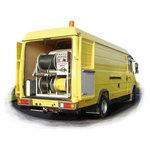 Augstspiediena tīrīšanas iekārta ROJET® 130/160, Rothenberger