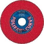 Vėduoklinis diskas 125mm CO60 PFR SGP-CURVE L >8mm, Pferd