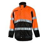 Mežstrādnieku jaka  830 oranža/melna, L, Dimex