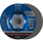 CC-GRIND-SOLID 125 SG STEEL, Pferd