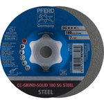 CC-GRIND-SOLID 180mm SG STEEL, Pferd