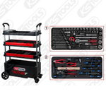 BUTLER tool cabinet/ assembly trolley, 175pc tool set