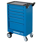 tool trolley with 6 drawers 1578, Gedore