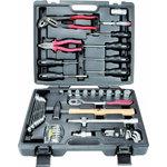 tööriista kmpl kohvris 50-osa, universaalne, KS Tools