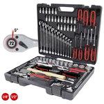 """1/4""""-1/2""""  tööriista kompl, 97 -osa, KS Tools"""