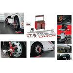 Sunkvežimių ratų suvedimo stendas Axis 4000 Premium Haweka, HAWEKA