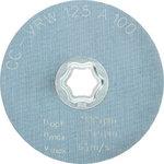 Neaustinis šlif. diskas 125 mm A100 CC-VRW, Pferd
