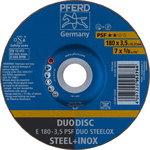 DuoDisc lõike- ja lihvketas E 178-3,5 A24 P PSF-INOX DUO, Pferd