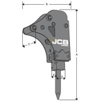 Hüdrovasar  HM033T, JCB