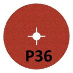 Fibrodiskas 125mm 987C P36+ Cubitron II nerūdijančiam plien, 3M