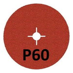 Fibrodiskas 125mm 987C P60+ Cubitron II nerūdijančiam plien, 3M