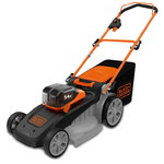 Cordless mower CLM5448PC2/54 V DV/48 cm / 2x2,5 Ah, Black+Decker