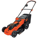 Cordless mower CLMA4820L2 / 36 V / 48 cm / 2x2 Ah batteries, Black+Decker