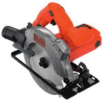 Circular saw CS1250L / 66 mm / 1250W, Black+Decker
